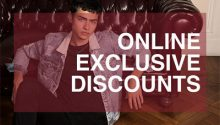 Online Exclusive Discounts
